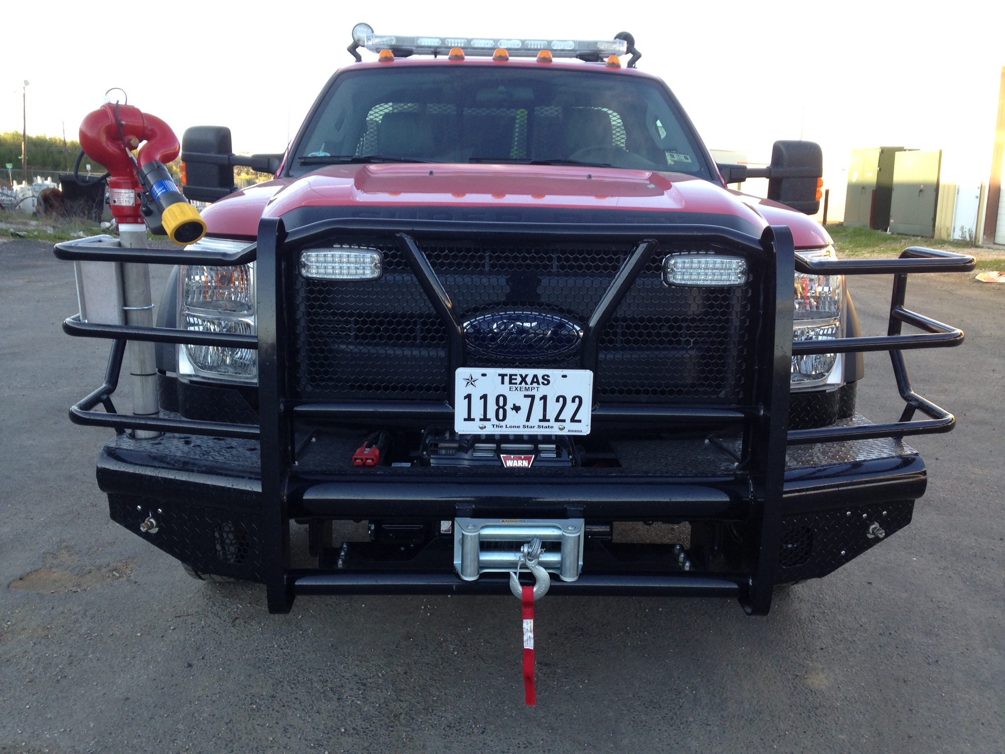 2015 F-550 Winch ready / Fire truck ready
