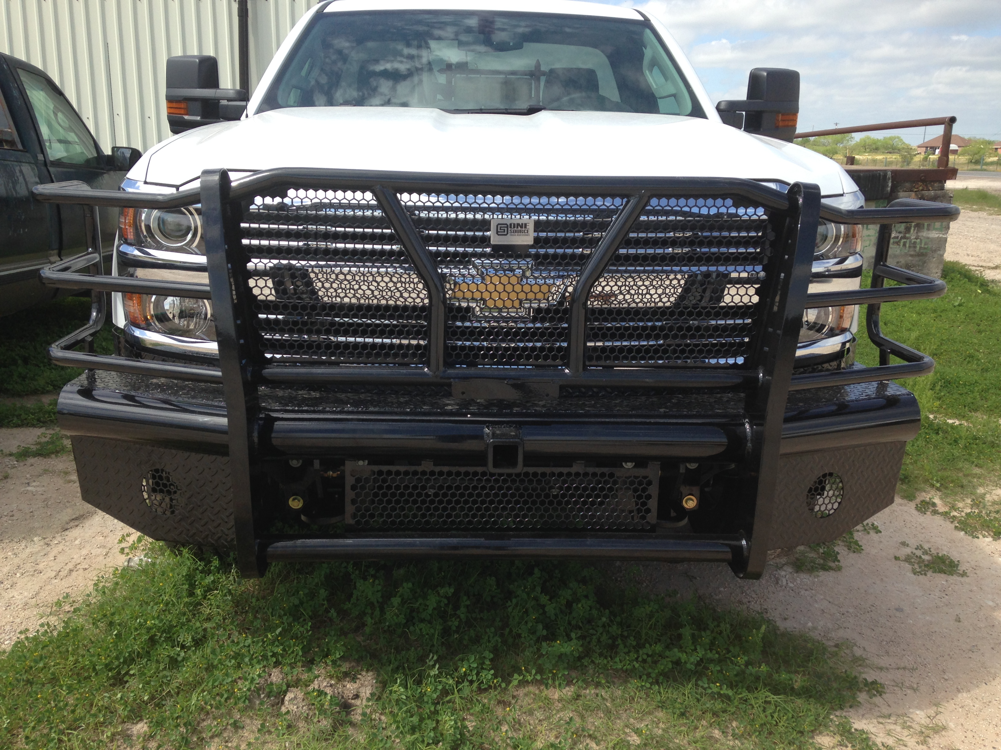 2015 Chevy 2500 front replacement with receiver tube