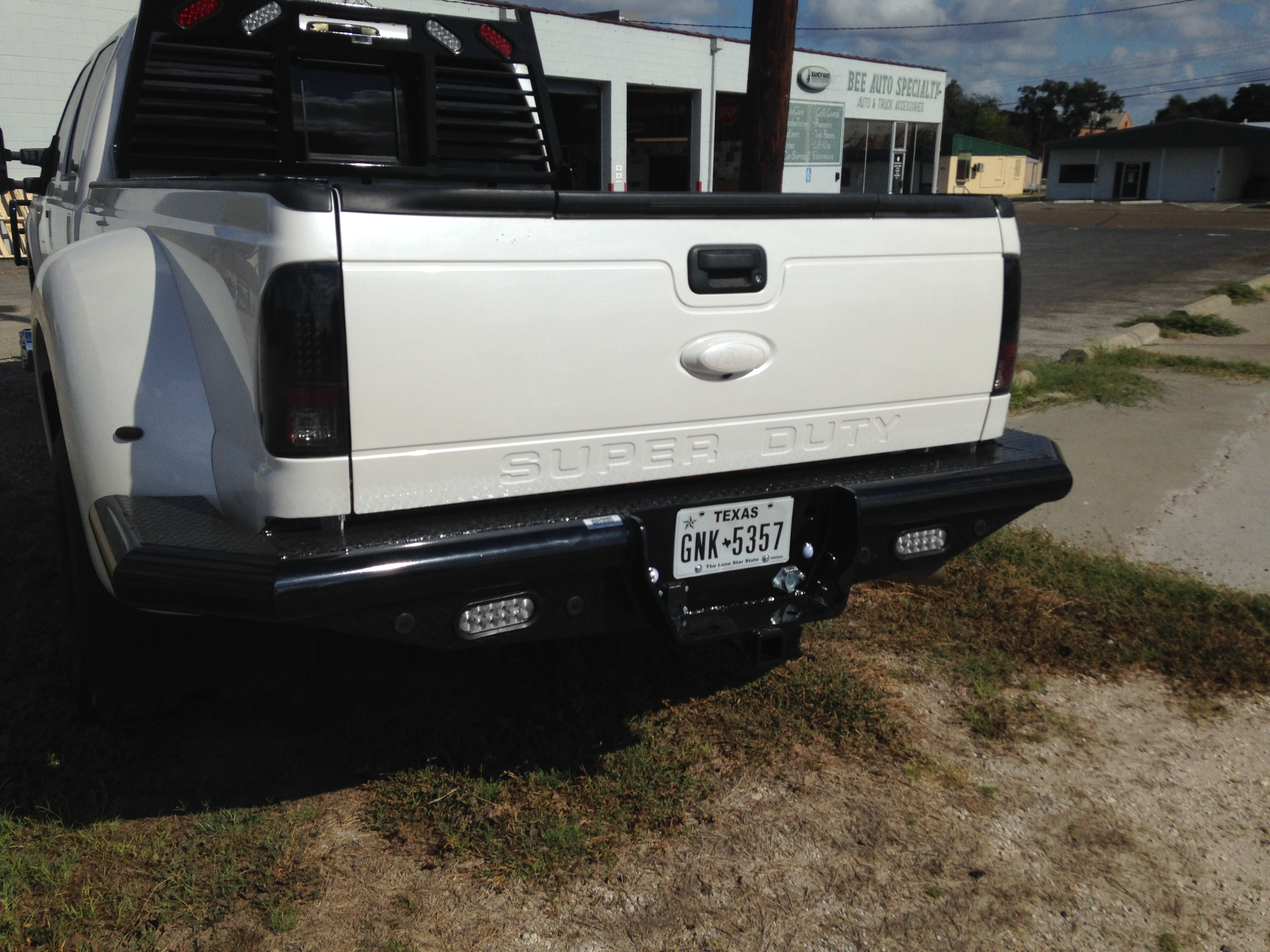 2016 ford Superduty Rear Dually Wrap with LED Lights